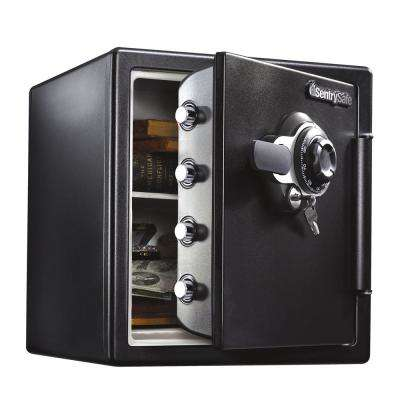 SFW123DTB 1.23 cu ft Fireproof Safe and Waterproof Safe with Dial Combination