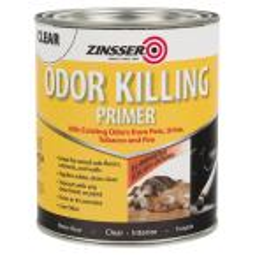 Zinsser 1 Qt Odor Killing Interior Primer 4 Pack 307648