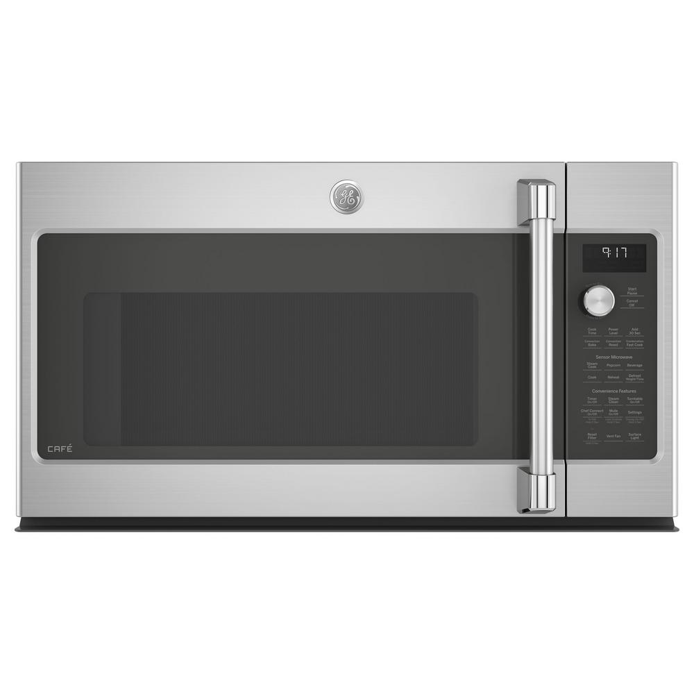 GE Cafe 1.7 cu. Ft. Over the Range Convection Microwave i...