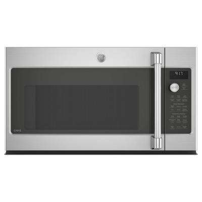 Cafe 1.7 cu. Ft. Over the Range Convection Microwave in Stainless Steel with Steam Cook