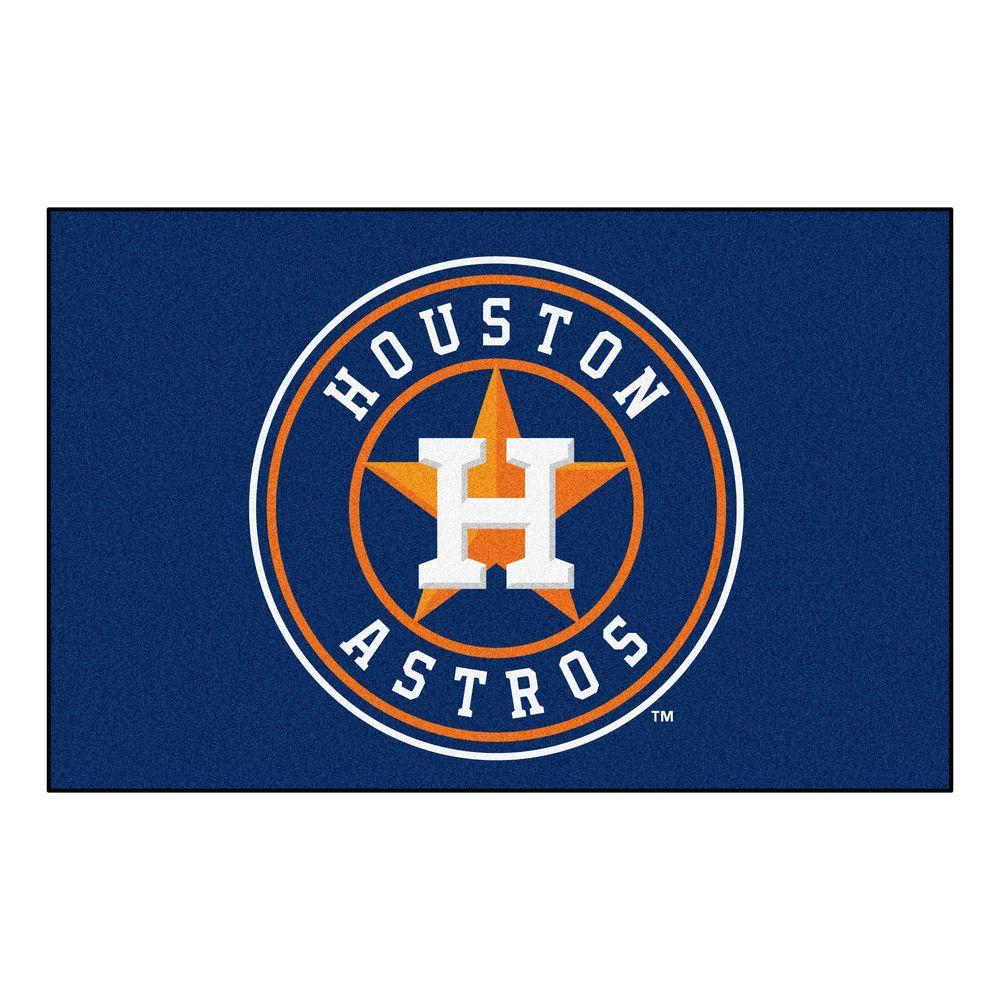 Fanmats Houston Astros 19 In X 30 In Accent Rug 6484
