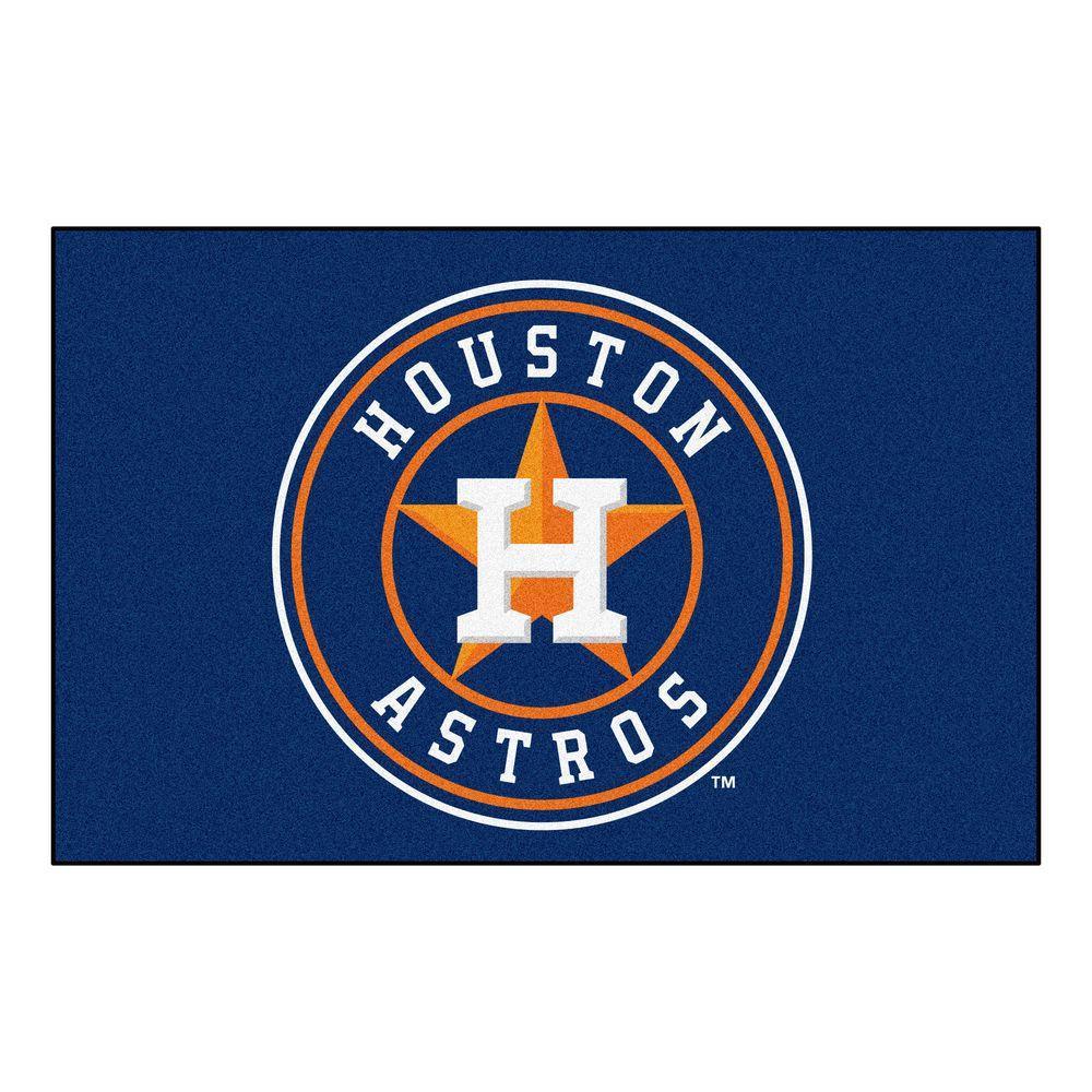 Astros Logo >> Fanmats Houston Astros 2 Ft X 3 Ft Area Rug