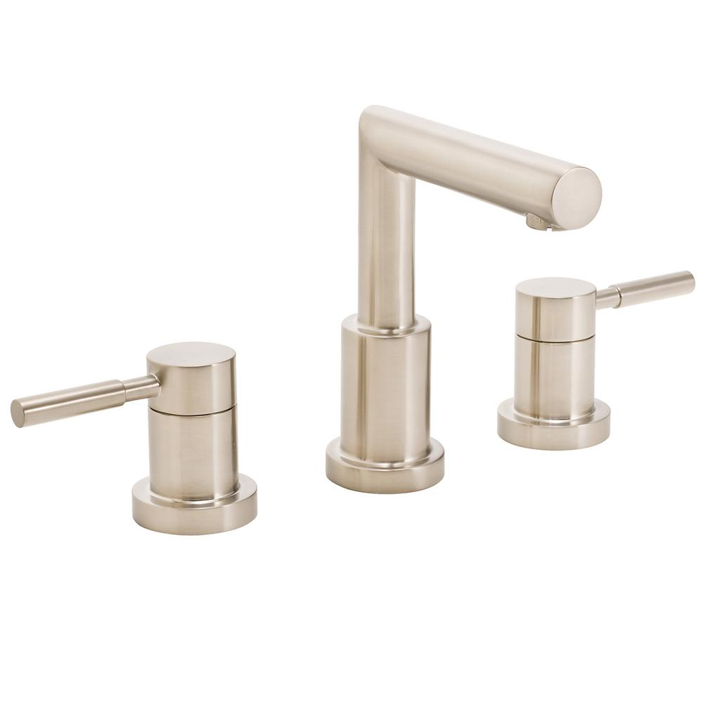 Speakman Neo 8 in. Widespread 2-Handle Bathroom Faucet in Brushed ...