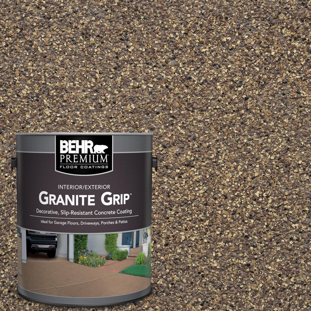 1 Gal. #GG-14 Autumn Mountain Decorative Flat Interior/Exterior Concrete Floor Coating