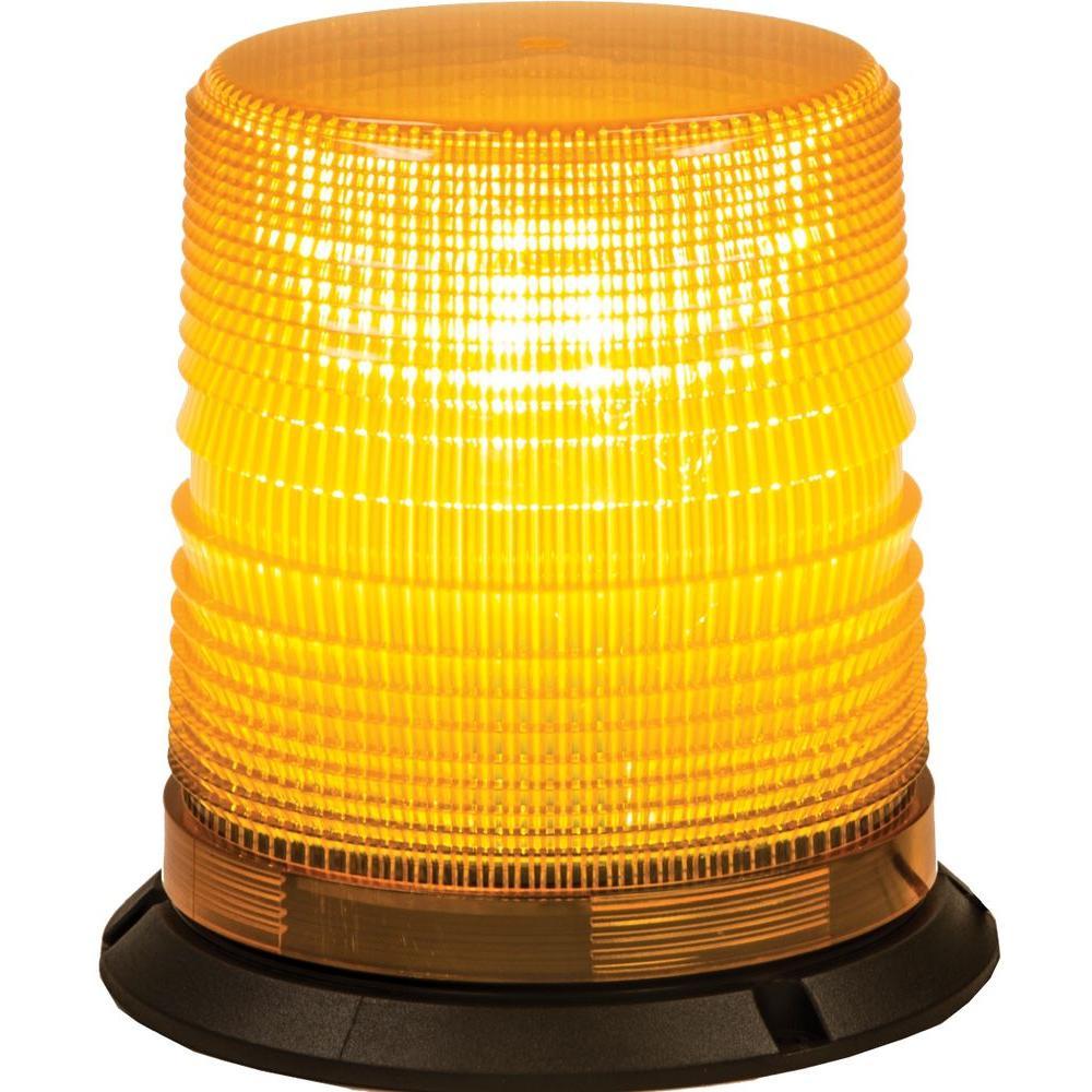 Amber Permanent Mount Utility Strobe Light