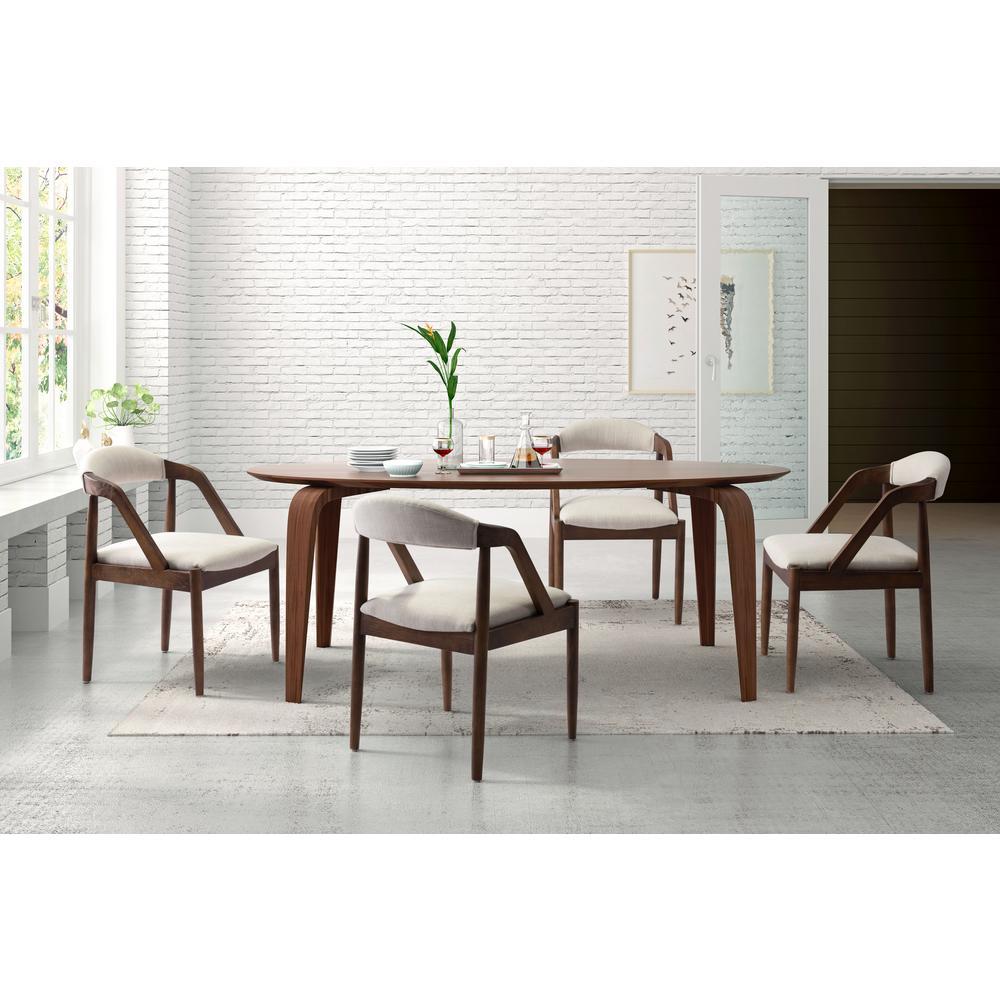Jefferson Beige Dining Chair