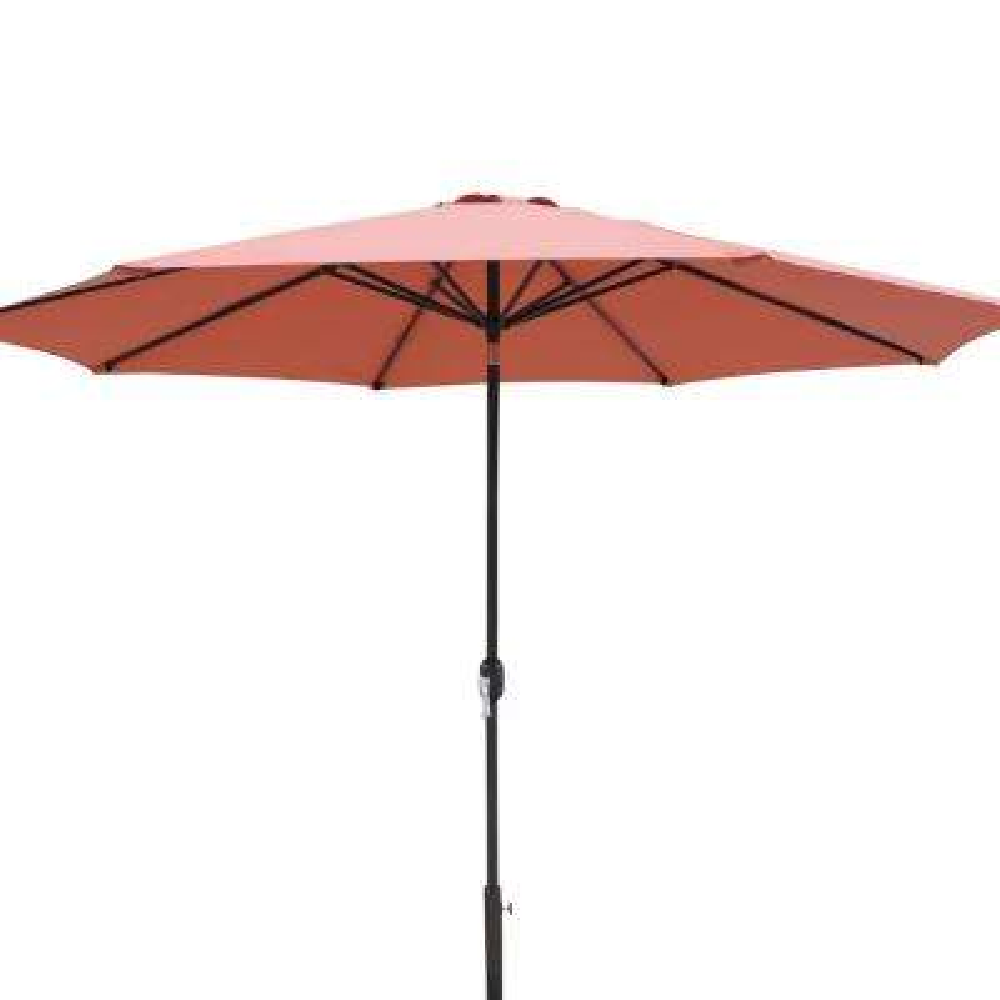 Calypso 11 ft. Market Umbrella with Adjustable Tilt Weather-Resistant Olefin Canopy Wind Vent