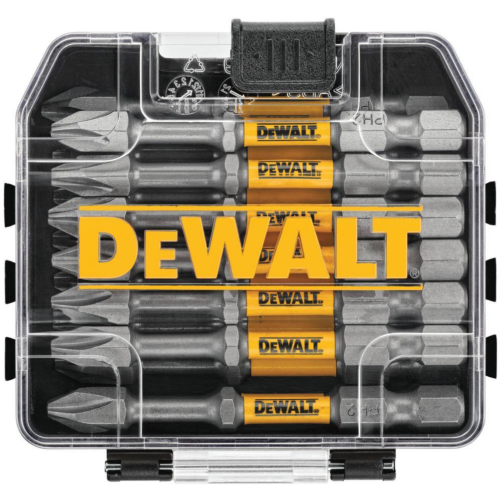 DEWALT MAX IMPACT 2.5 in.  #2 Philips Bit (15-Piece) with Small Bulk Storage