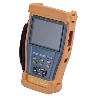 Multi-Functional CCTV Tester with 3.5 in. LCD and Signal Meter in Orange