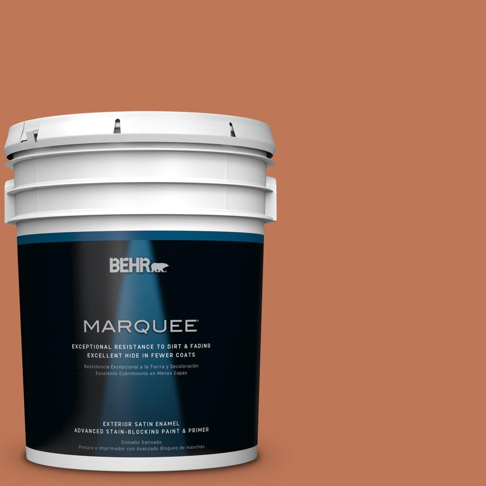 BEHR MARQUEE 5-gal. #PPU3-1 Moroccan Sky Satin Enamel Exterior Paint
