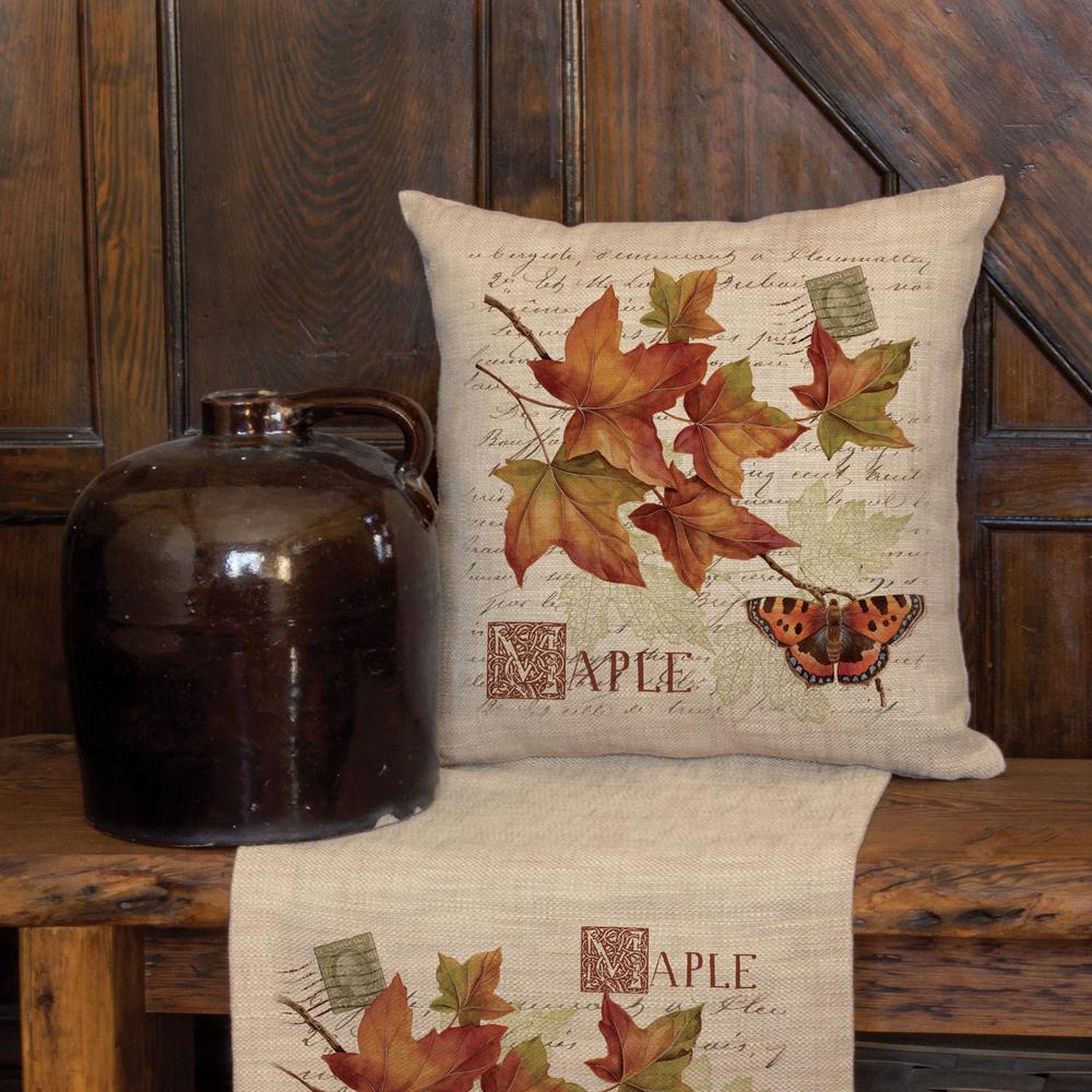 Harvest Maple Natural Harvest Decorative Pillow