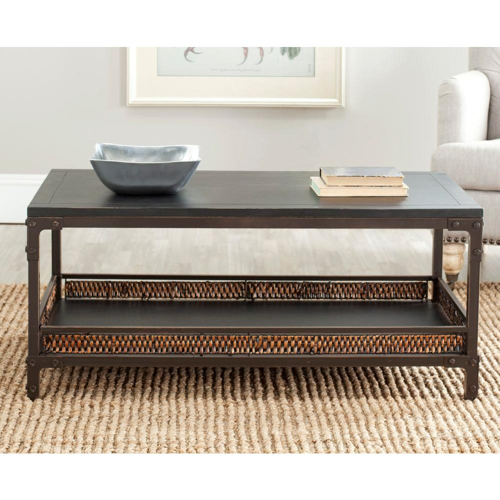 Dinesh Dark Walnut Coffee Table