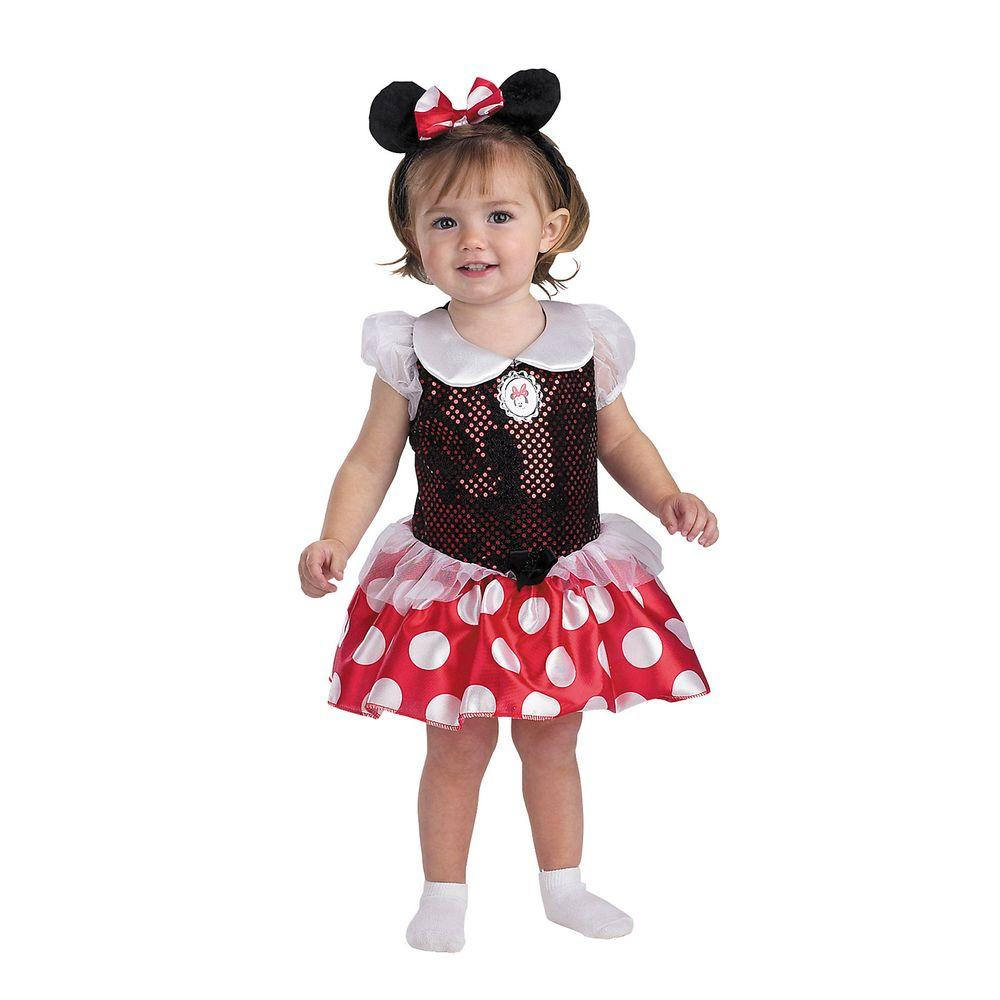 8e7efc5f0cee Disguise Minnie Mouse Toddler Infant Costume-5390 - The Home Depot