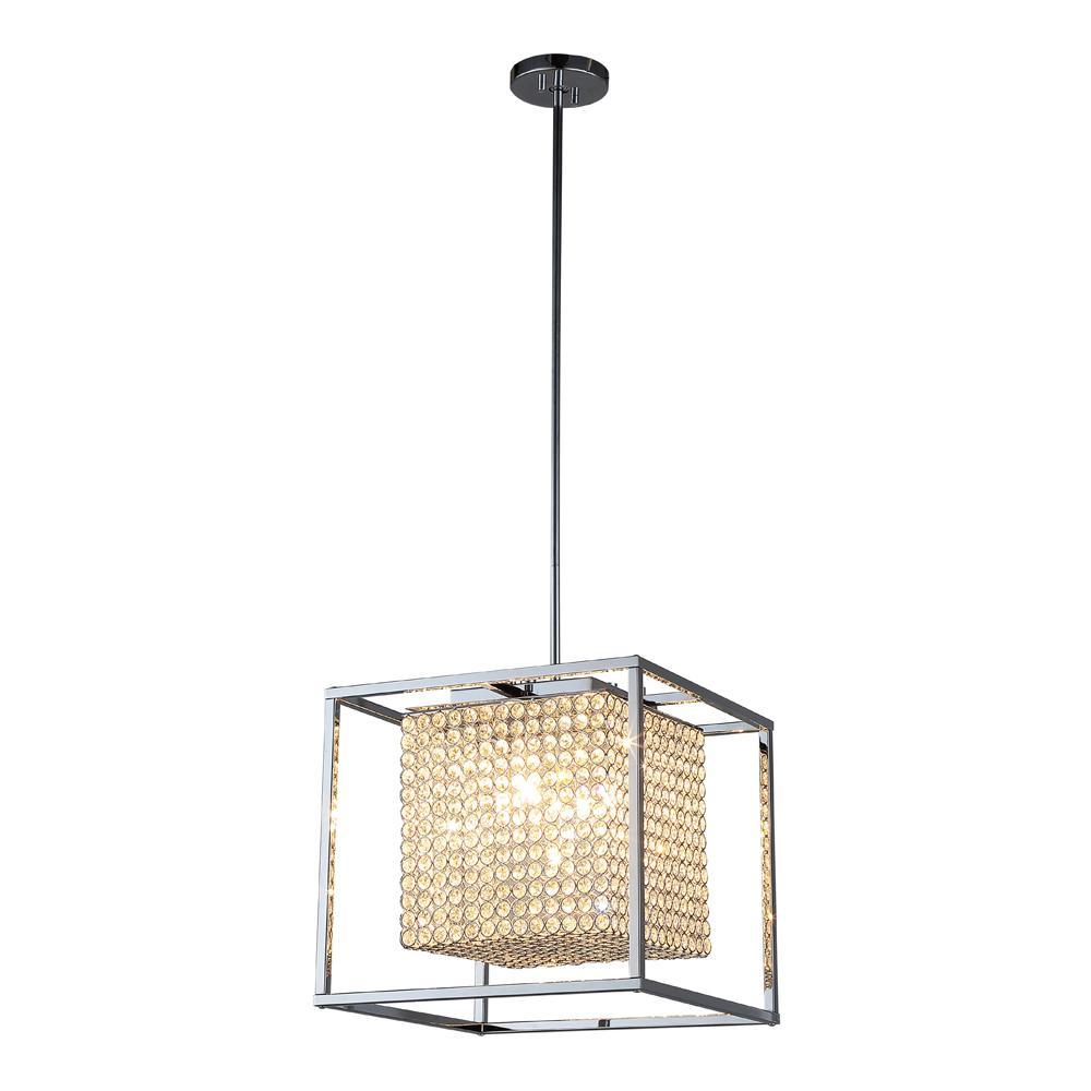 5-Light Chrome Pendant  sc 1 st  Home Depot & LED - Pendant Lights - Lighting - The Home Depot