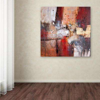 """24 in. x 24 in. """"Cube Abstract V"""" by Rio Printed Canvas Wall Art"""