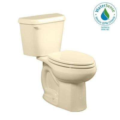 Colony 10 in. Rough-In 2-piece 1.28 GPF Single Flush Elongated Toilet in Bone, Seat Not Included