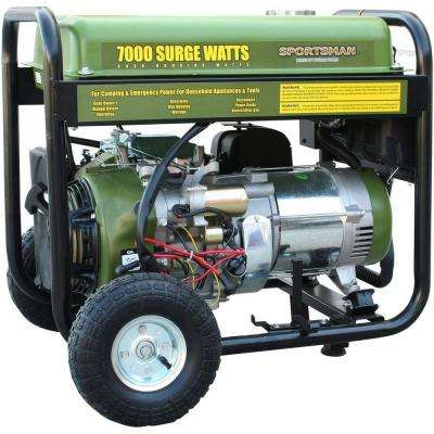 7,000/6,000-Watt Gasoline Powered Electric Start Portable Generator