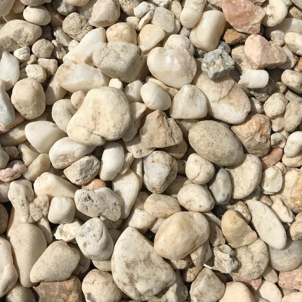 Butler Arts 0.50 cu. ft. 40 lb. 1/2 in. to 1-1/2 in. Sand Dollar Landscaping Pebble (20-Bag Pallet)