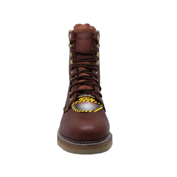 Work Boots - Soft Toe - Redwood Size 11
