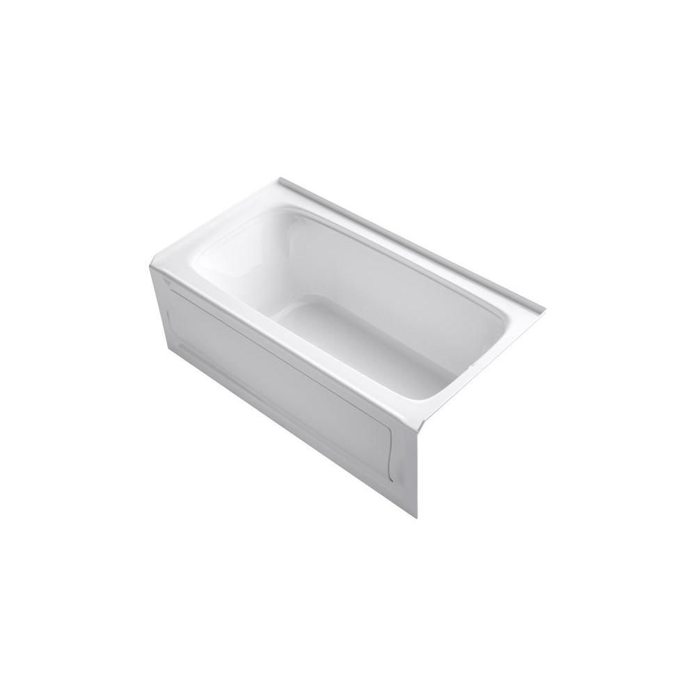 KOHLER Bancroft 5 ft. Whirlpool Tub in White