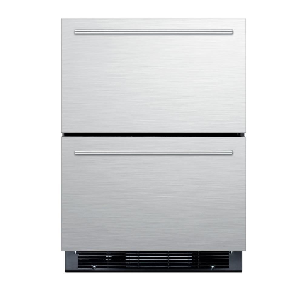 Summit Appliance 4.8 cu. ft. Mini Refrigerator in Stainless Steel ...