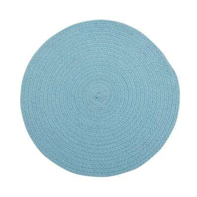 Cotton Solid Aqua Placemats