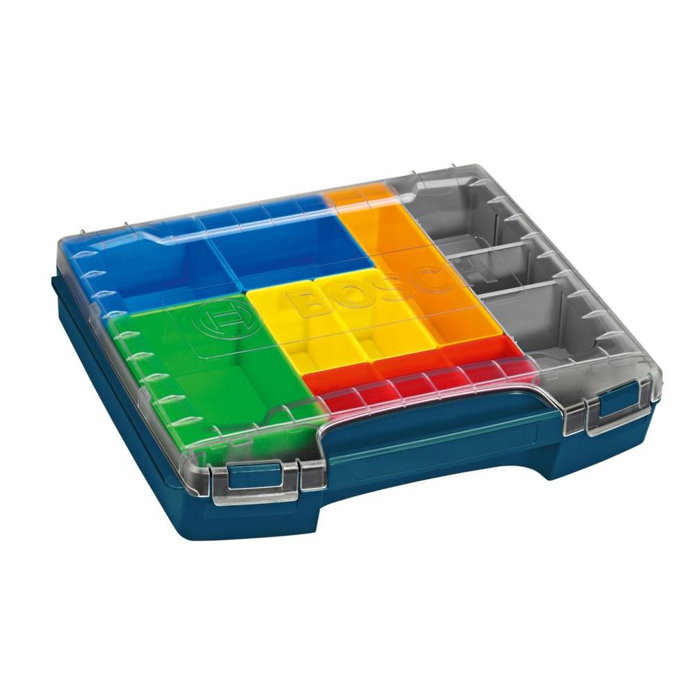 2.75 in. x 12.5 in. x 13.75 in. 10-Compartment Small Parts
