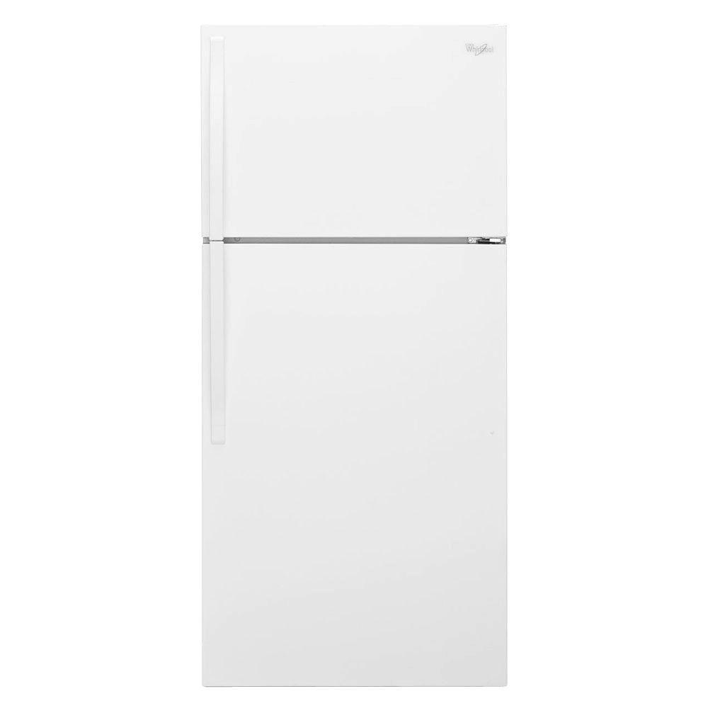 Whirlpool 33 In W 20 5 Cu Ft Top Freezer Refrigerator