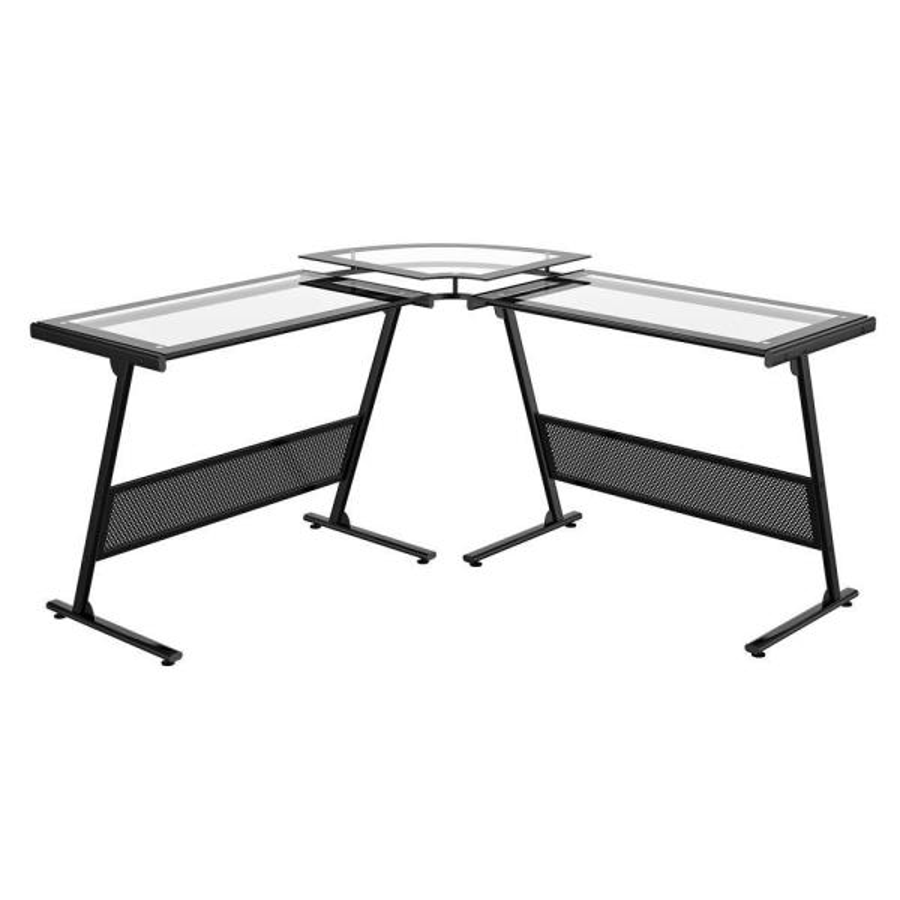 z line designs black desk zl1429 1du the home depot rh homedepot com z line design desk black z-line designs vance l desk