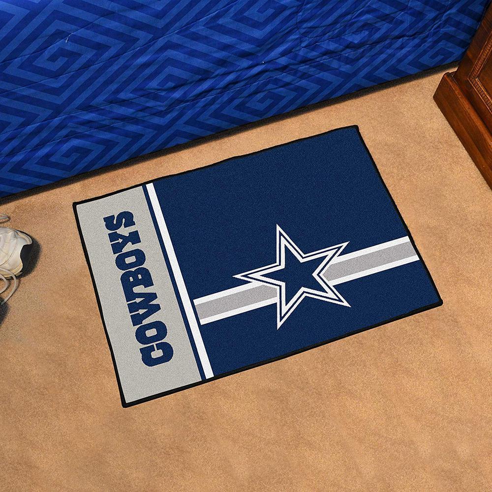 NFL - Dallas Cowboys Blue Uniform Inspired 2 ft. x 3 ft. Indoor/Outdoor Area Rug