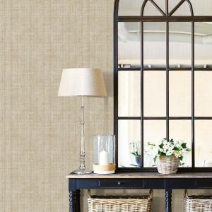 Deals on Wall Pops 30.75 sq. ft. Ramie Linen Peel & Stick Wallpaper