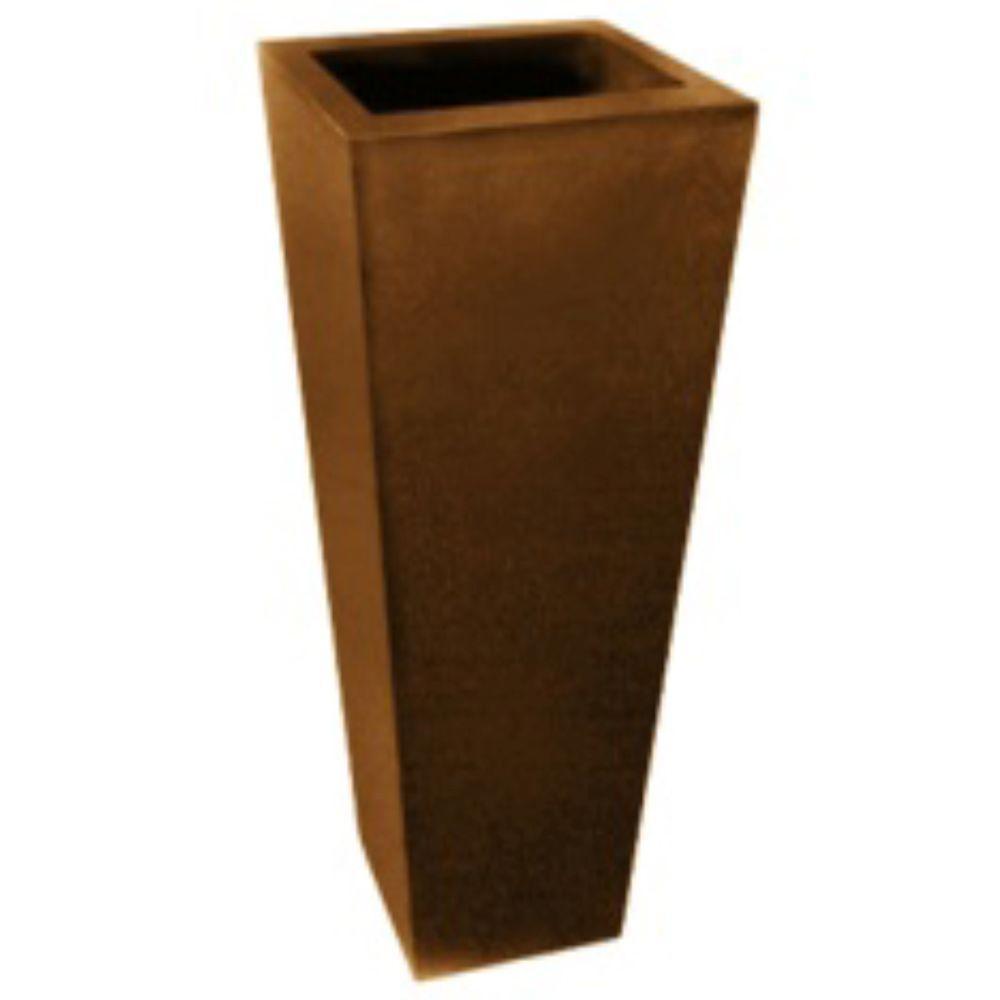 Ravenna Pottery 17 in. Square Clay Peyan Pot