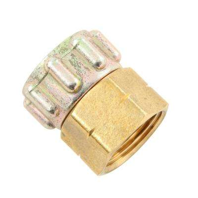 3/4 in. FGH x 3/4 in. FGH Lead-Free Brass Garden Hose Swivel
