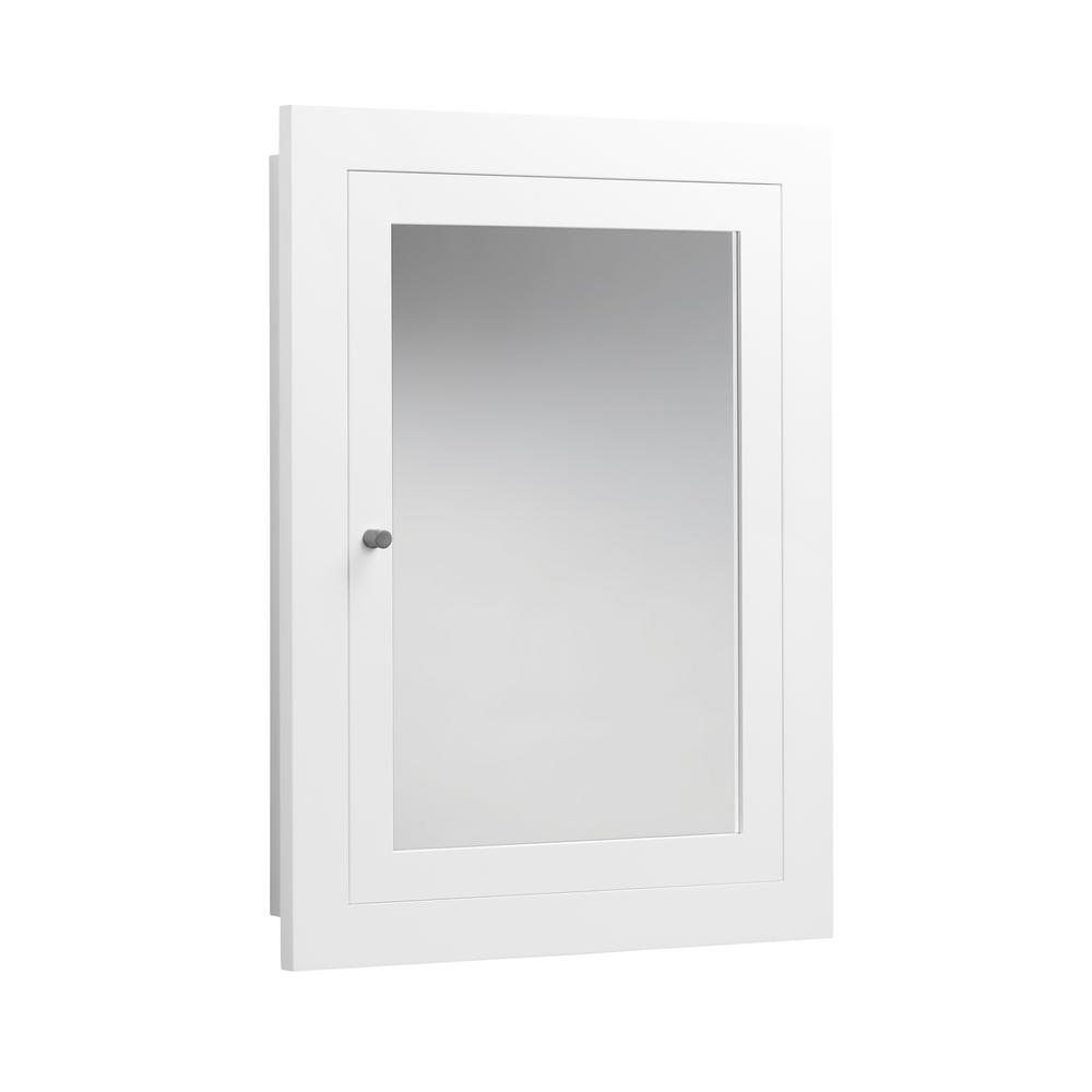 Home Decorators Collection Hayward 23 1 2 In W X 29 In H X 7 1 2 In D Framed Surface Mount