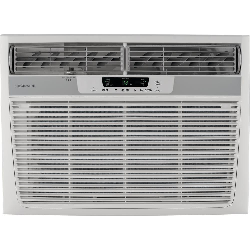 Frigidaire 18,500 BTU 230-Volt Window Air Conditioner with Heat and Remote Frigidaire 18,500 BTU 230-Volt Window Air Conditioner with Heat and Remote Size: 25.98 In..