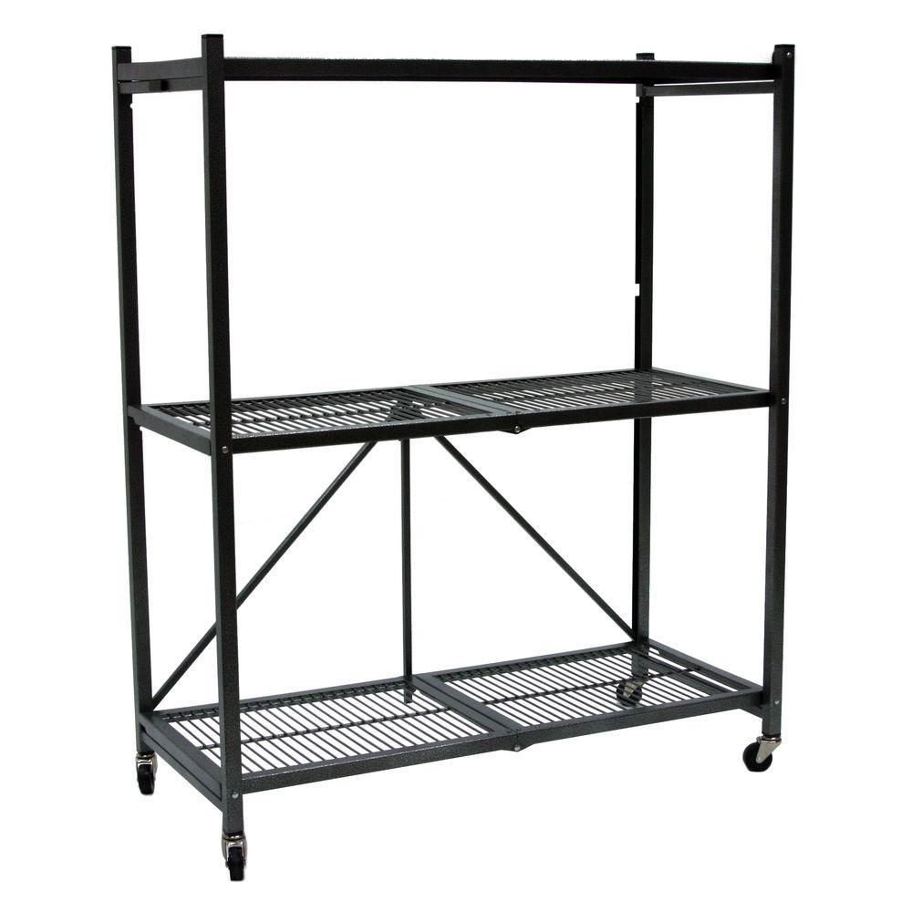 General Purpose Folding Metal Shelf