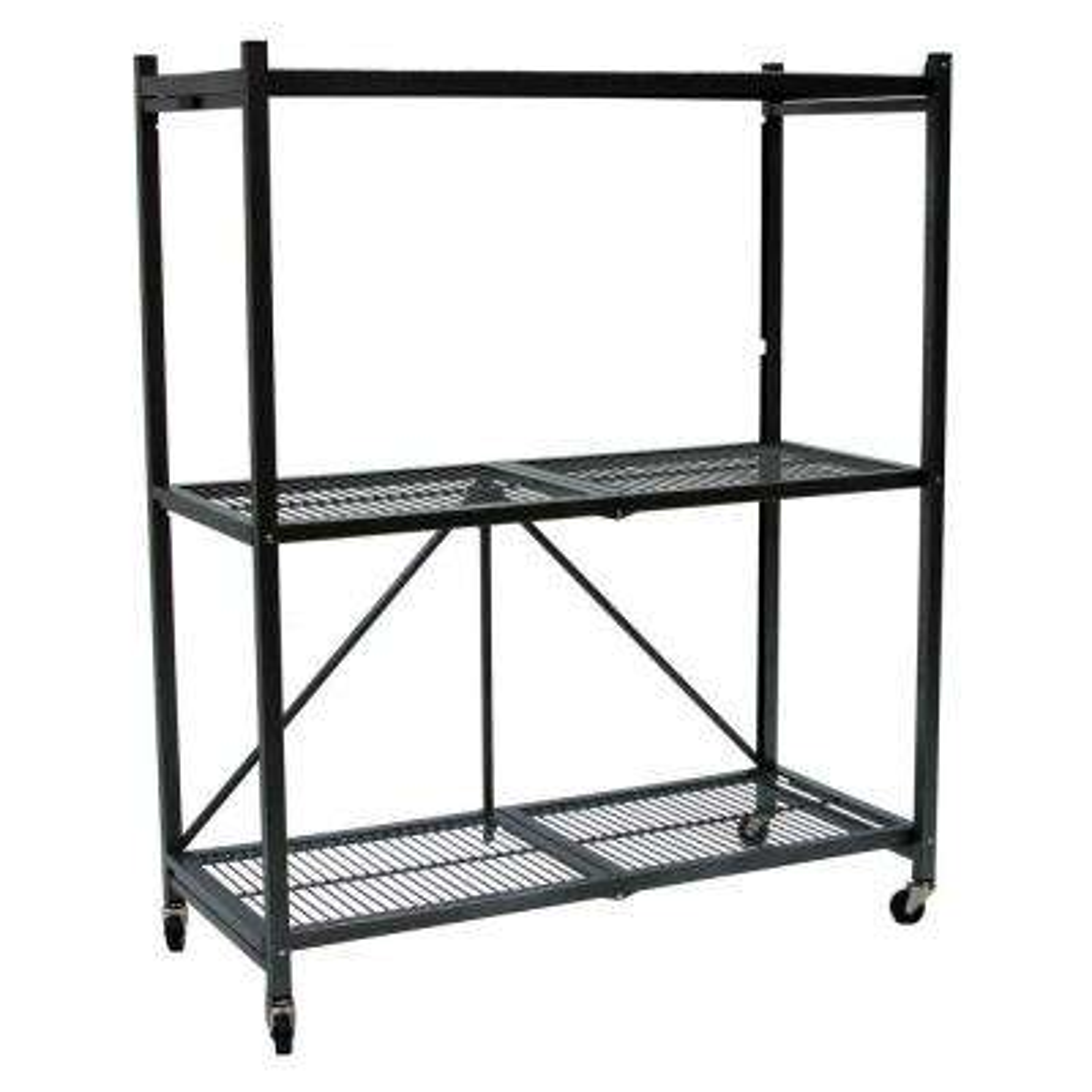 42.3 in. x 21.64 in. x 4.13 in. General Purpose Folding Metal Shelf