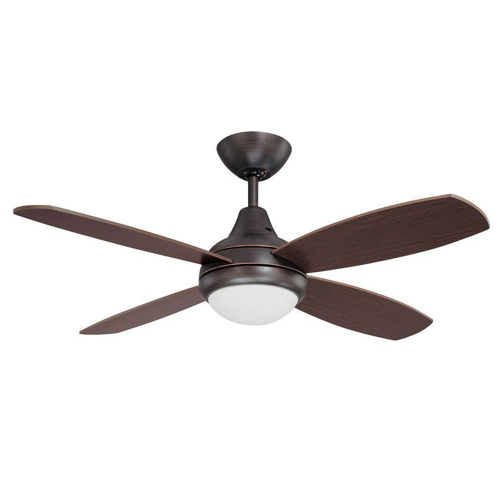 Aviator 42 in. Copper Bronze Ceiling Fan