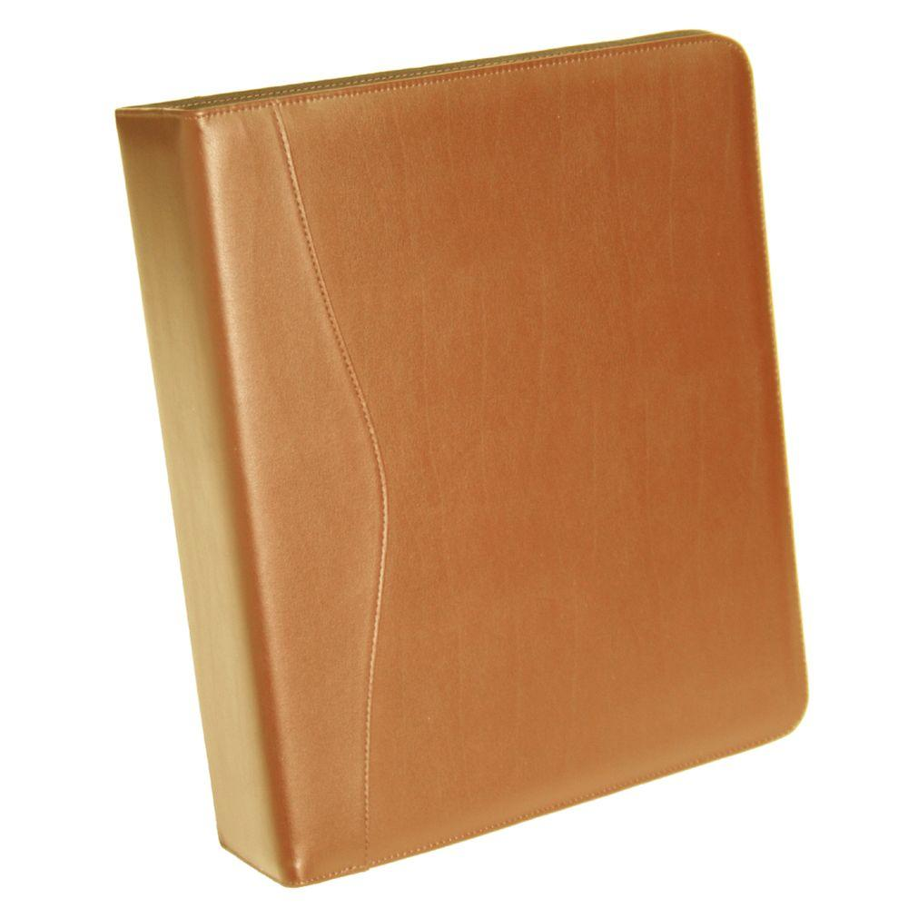 Royce Tan Executive 2 In. D Ring Binder-300-TAN-8