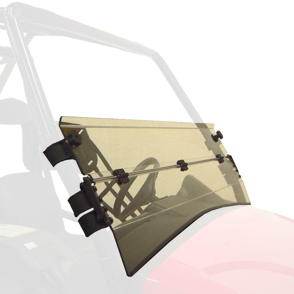 Kolpin Prowler Half Folding Windshield for Round Tubes
