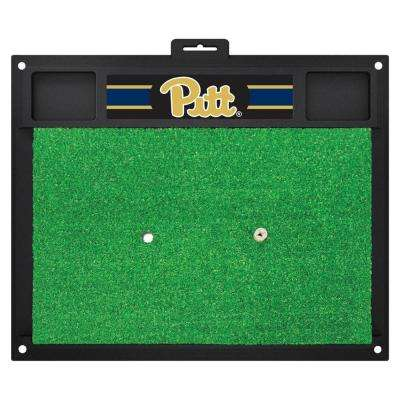 NCAA University of Pittsburgh 17 in. x 20 in. Golf Hitting Mat