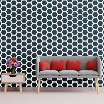 3/8 in. x 20-1/2 in. x 23-3/4 in. Large Westmore White Architectural Grade PVC Decorative Wall Panels