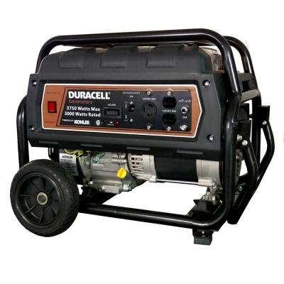 4000-Watt Portable Gas Power Generator with KOHLER Recoil Start Engine