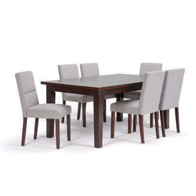 Ashford 9-Piece Cloud Grey Dining Set