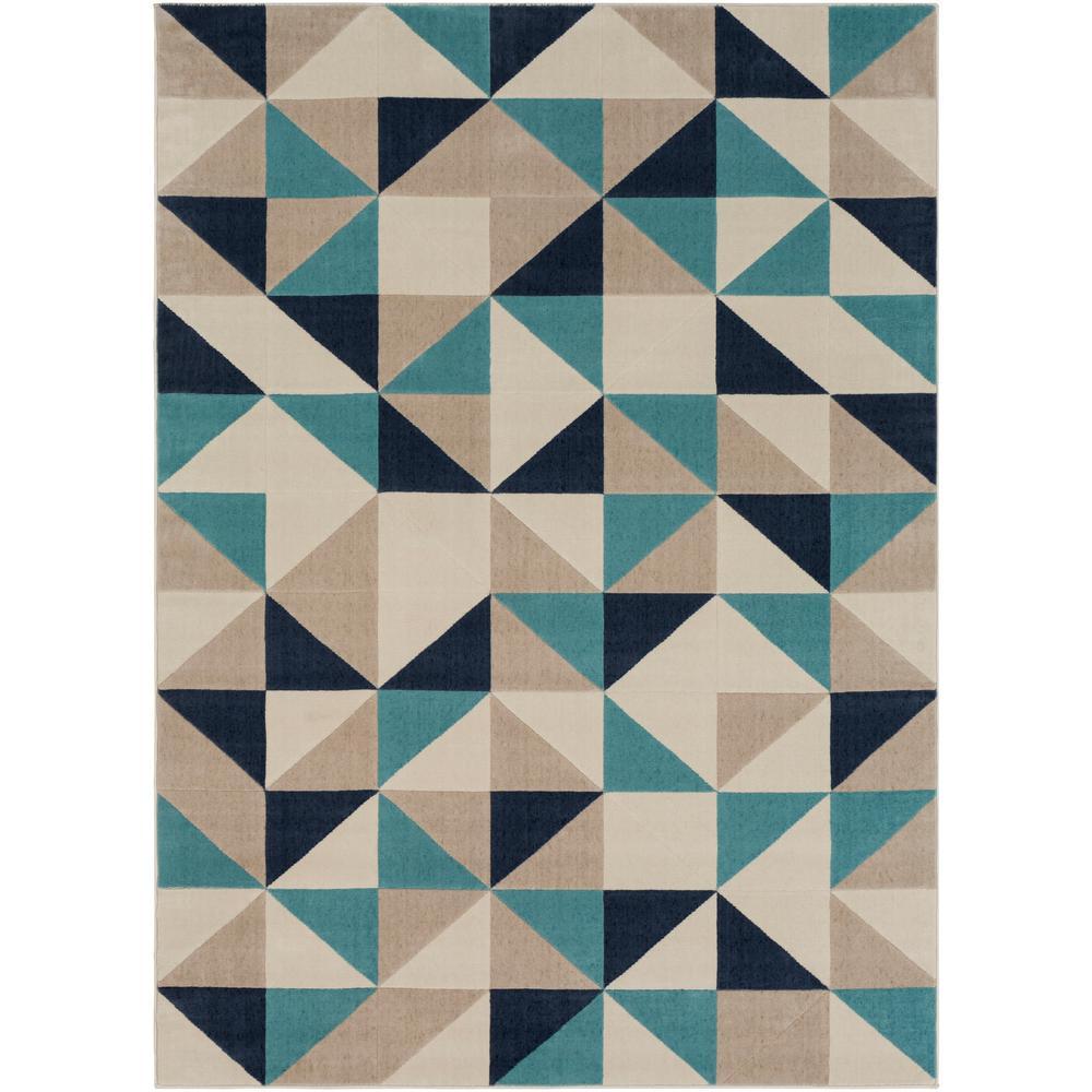 Modern Carpet Patterns To Artistic Weavers Astvin Aqua Ft 11 In In Geometric