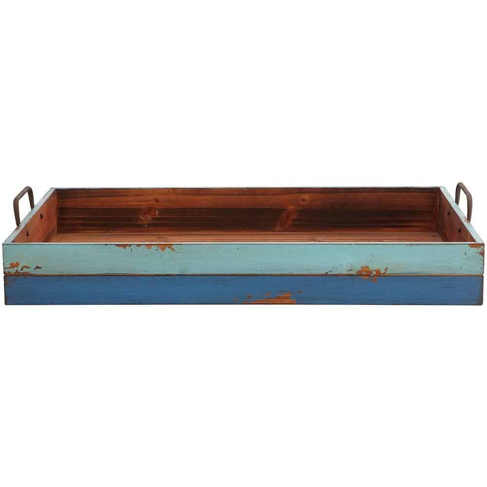 Home Decorators Collection Large Distressed Painted Tray