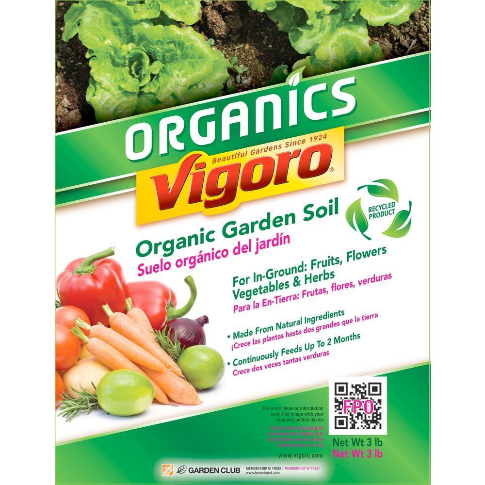 Organic Garden Soil 73159920   The Home Depot