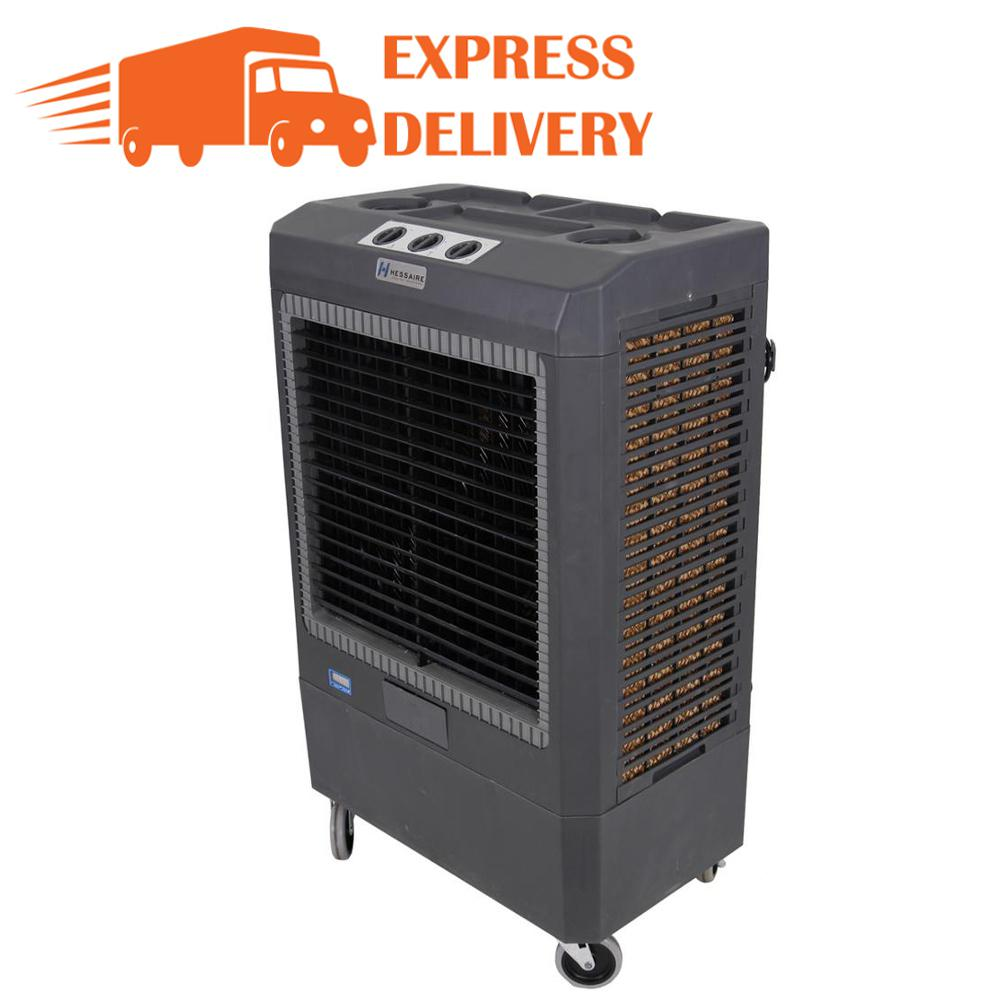 Hessaire 5,300 CFM 3-Speed Portable Evaporative Cooler (Swamp Cooler) for 1,600 sq. ft.