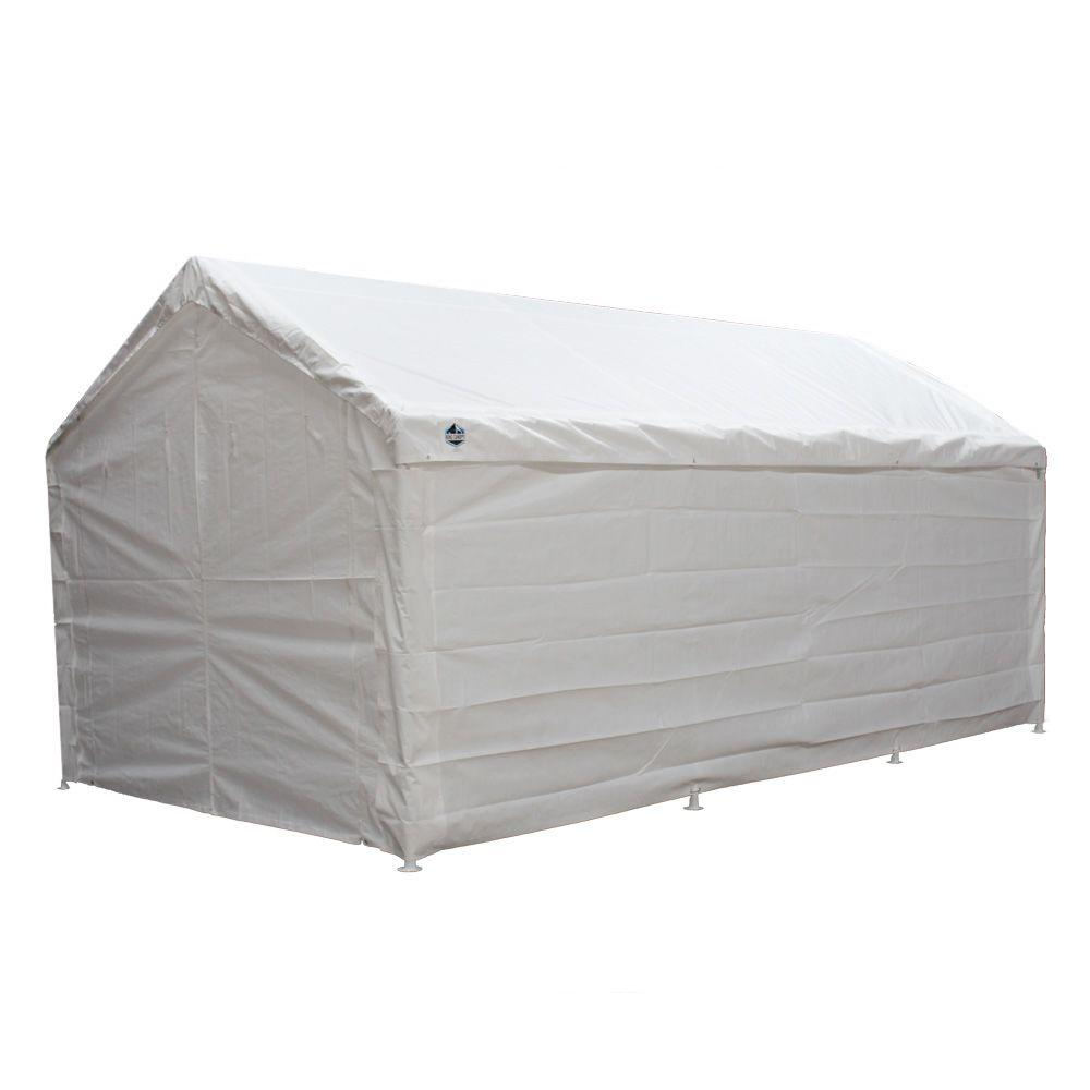 King Canopy Hercules 10 ft. W x 20 ft. D Enclosed Canopy