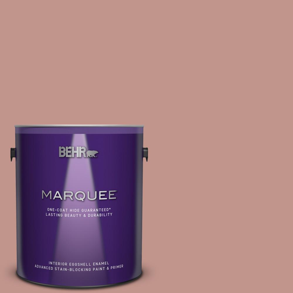 BEHR MARQUEE 1 gal. #MQ1-18 Pressed Blossoms One-Coat Hide Eggshell Enamel Interior Paint and Primer in One